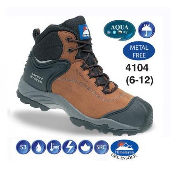 Himalayan Waterproof Nubuck Safety Boot