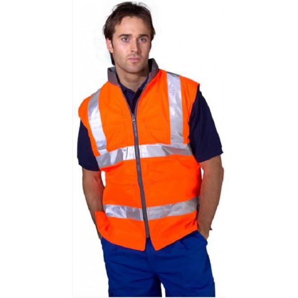 Hi-Vis 4 in 1 Bodywarmer