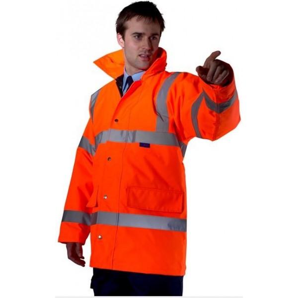 Hi Vis Constructor Jacket