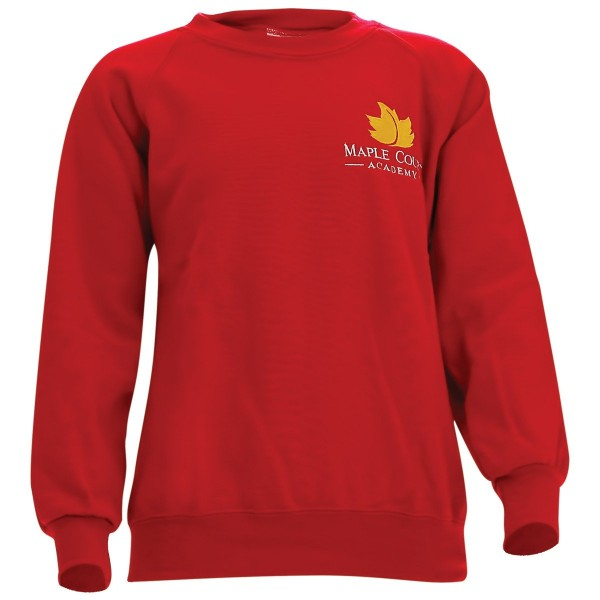 Maple Court Round Neck Sweatshirt