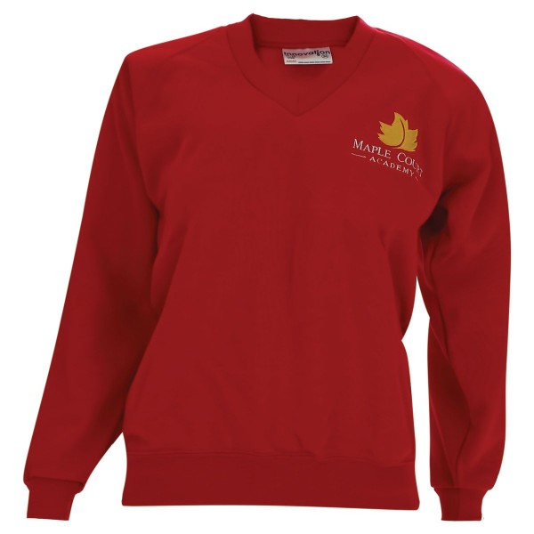 Maple Court V Neck Sweatshirt