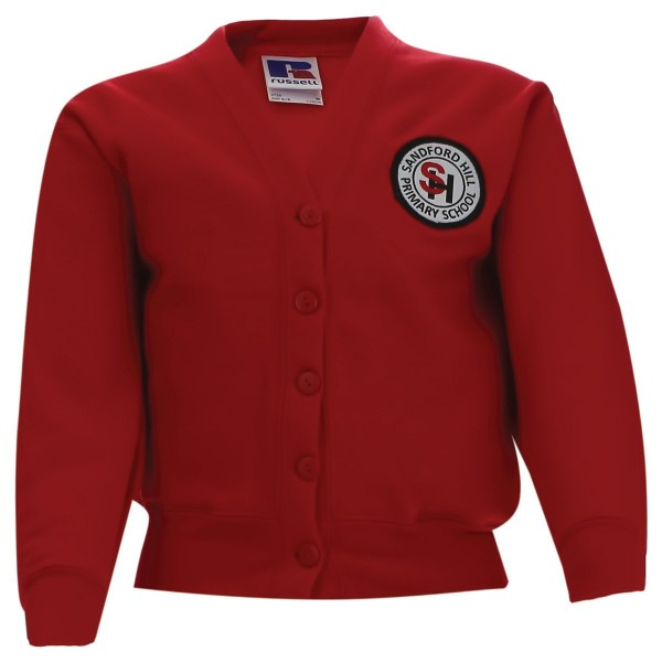 Sandford Hill Primary Sweatshirt Cardigan
