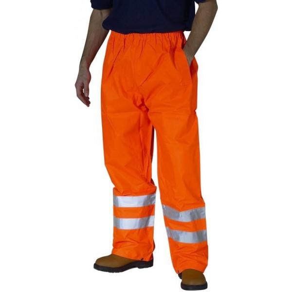 Hi Vis Weatherproof Traffic Trousers EN471