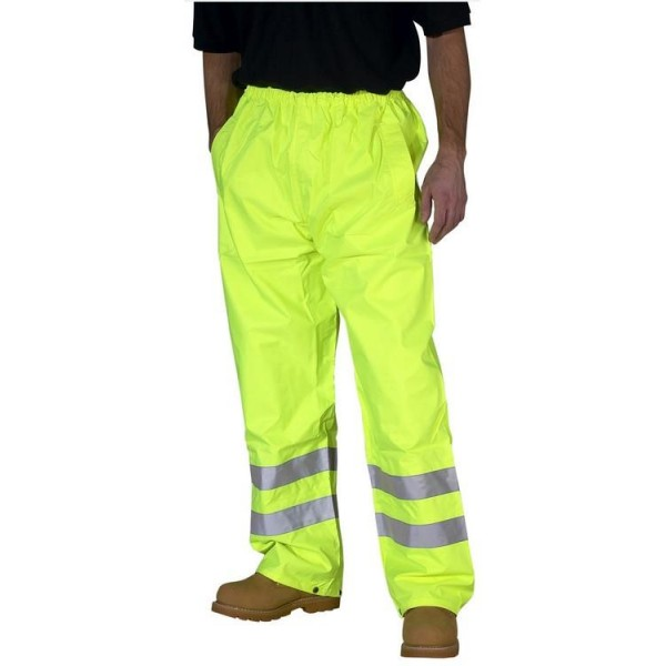 Hi Vis Weatherproof Traffic Trousers EN471