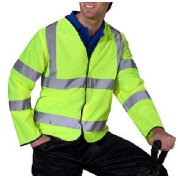 Hi-Vis Long Sleeve Jerkin